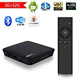 Mecool M8S Pro L Voice Remote Control Android TV Box 3GB +32GB Android 7.1 DDR3 2.4G/5G WiFi 4K Smart TV Box S912 64bit Quad-core ARM Cortex-A53