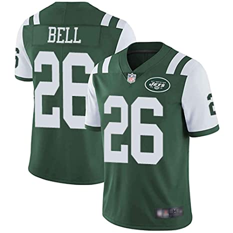 online store 98a48 5a307 Mitchell & Nesss Men's New York Jets #26 Le'Veon Bell Green Limited Home  Jersey