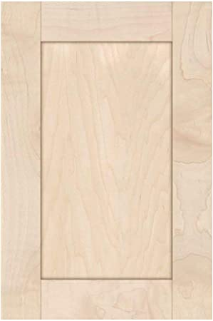 Unfinished Maple Shaker Cabinet Door by Kendor 22H x 12W