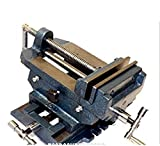 USA Premium Store 6'' Cross Drill Press Vise Slide Metal Milling 2 Way X-Y Clamp Machine
