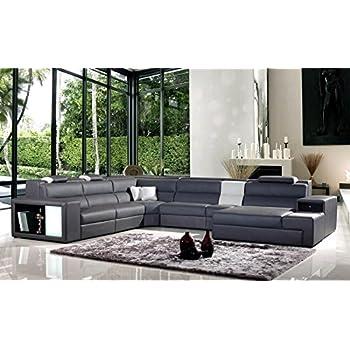 Amazon Com Vig Furniture Vgev5022 Gr Bl Divani Casa