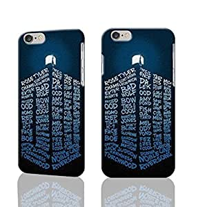 """Tardis Doctor Who 3D Rough iphone 6 -4.7 inches Case Skin, fashion design image custom iPhone 6 - 4.7 inches , durable iphone 6 hard 3D case cover for iphone 6 (4.7""""), Case New Design By Codystore"""