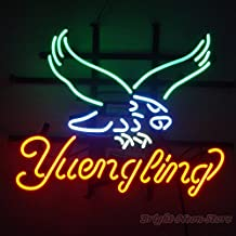"Yuengling Eagle Neon Sign 24""x20"" inches Bright Neon Light for Mancave Beer Bar Pub Garage"