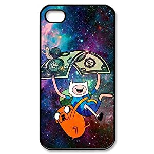 SUUER Rubber Silicone Custom Finn And Jake Adventure Time Personalized Custom Rubber Tpu CASE for iPhone 5 5s Durable Case Cover by heywan