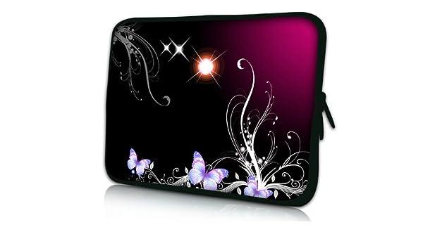 Luxburg Design Funda Blanda para Ordenador portátil (15,6 Pulgadas, Motivo: Estrellas y Mariposas: Amazon.es: Electrónica