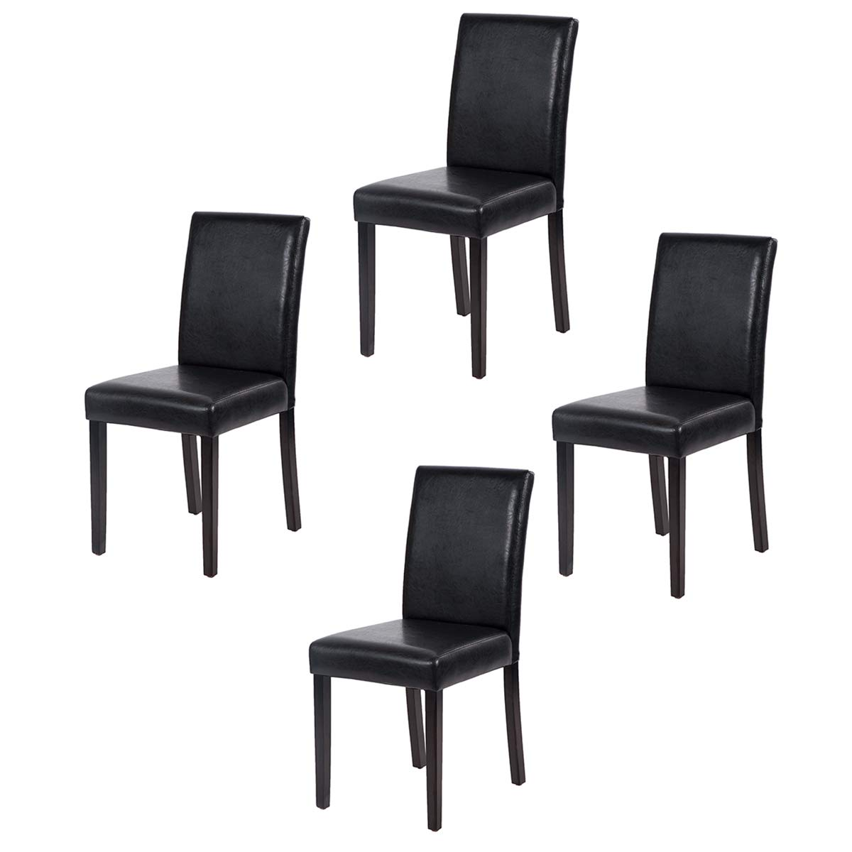 Dining Chairs Dining Room Chairs Parsons Chair Kitchen Chairs Set of 4 Dining Chairs Side Chairs for Home Kitchen Living Room by FDW