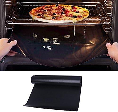 WE-WHLL Réutilisable Tapis de Barbecue Antiadhésif Plat de Cuisson Griller Pique-Nique Extérieur 40 * 33 * 0.02cm