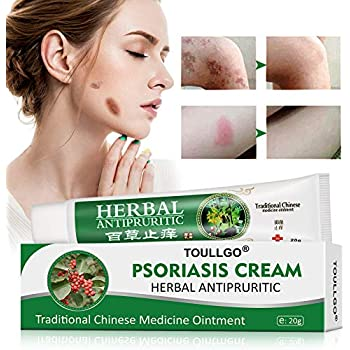 Psoriasis Cream, Psoriasis Treatment, Seborrheic Dermatitis Cream, Chinese Herbal Ointment for Psoriasis, Dermatitis, Eczema and Pruritus, 20g