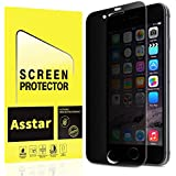 iPhone 8 Plus/iPhone 7 Plus Privacy Screen Protector, Asstar [Full Coverage] Anti-Spy Anti-Glare Tempered Glass Anti-Scratch Anti-Fingerprint Bubble Free for Apple iPhone 8/7 Plus (1 Pack)