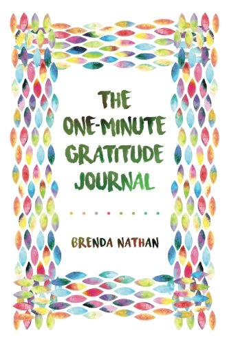 The One-Minute Gratitude Journal cover