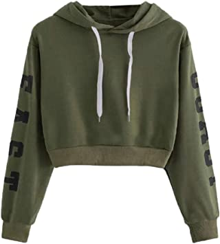 PowerFul-LOT Sweats à Capuche Femme, Hoodie