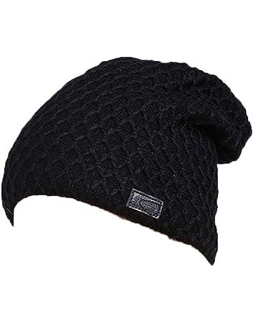 Terciopelo Gorro de lana de punto y de punto sombrero sombreros regalo para  los hombres  93a09278620