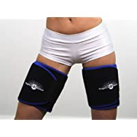 WeightLoss-Solutions Thigh Wrap - Sauna Belts (2 Pack) Body Wraps Weight Loss, to get rid Cellulite arm Fat