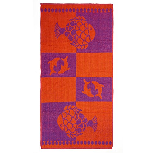 Terry Beach Towel - dolphin