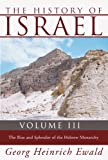 The History of Israel, Heinrich Ewald, 1592448836
