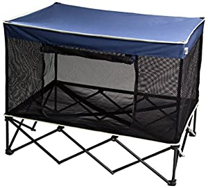 Amazon Com Quik Shade Large Instant Pet Kennel With Mesh