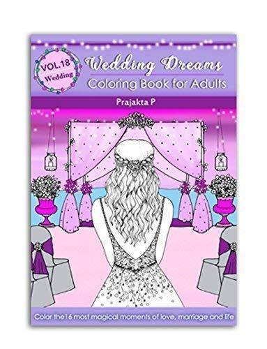 Wedding dreams – Vol 18 coloring book for