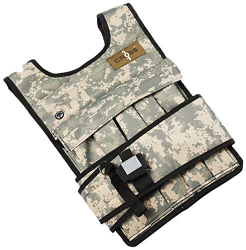 - CROSS101 Camouflage Adjustable Weighted Vest Without Shoulder Pads (40)