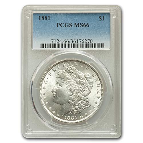 1881 Morgan Dollar MS-66 PCGS $1 MS-66 PCGS