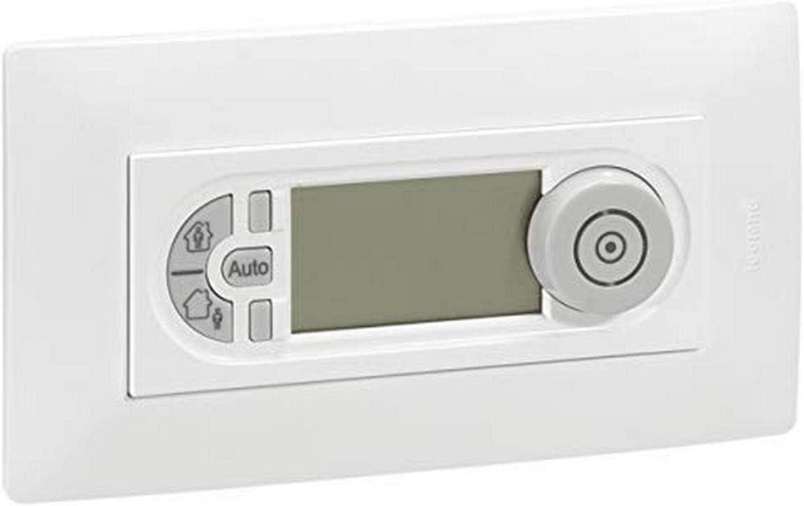 Legrand niloe - Termostato programable niloe blanco: Amazon.es: Bricolaje y herramientas