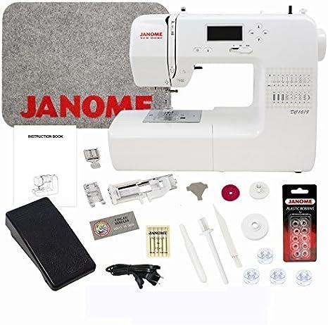Janome DC1018 Máquina de coser con paquete: Amazon.es: Hogar