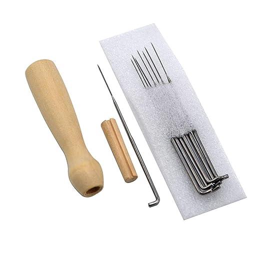 M 100 st/ücke filzen nadeln stickerei diy handwerk stricken starter zubeh/ör set