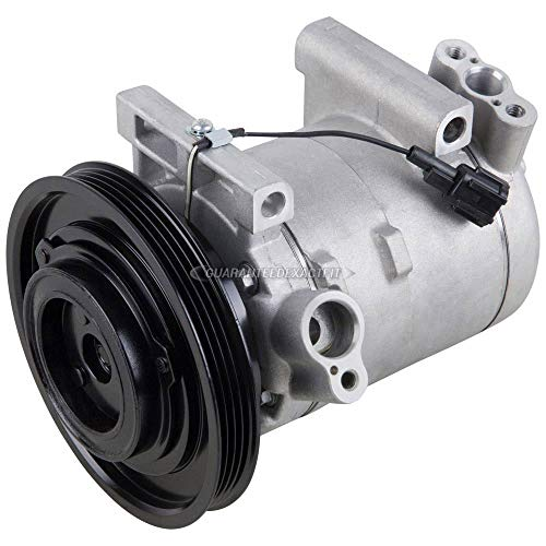 AC Compressor & A/C Clutch For Nissan Frontier Xterra V6 Non-Supercharged 1999 2000 2001 2002 2003 2004 - BuyAutoParts 60-01488NA NEW ()