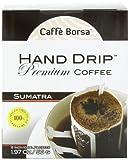 Caffe Borsa Single Serve Hand Drip Coffee, Premium Sumatra, 8 Count