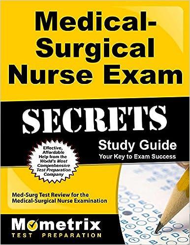 Medical Surgical Nurse Exam Secrets Study Guide Med Surg
