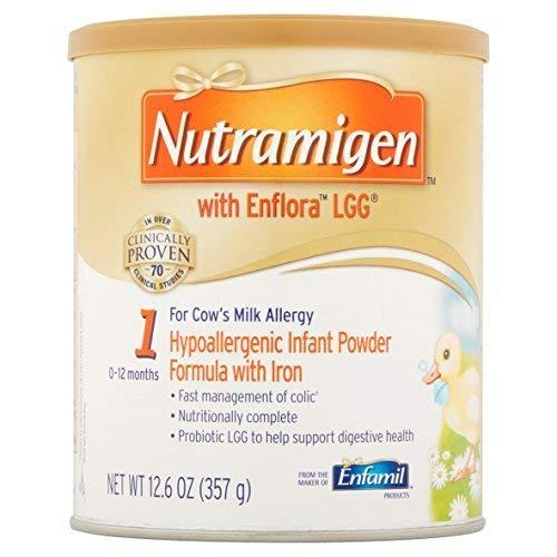 Nutramigen® with EnfloraTM LGG® Infant Formula-Flavor Unflavored Calories 20 / fl oz Style Powder Packaging 12.6 oz Can - Case of 6