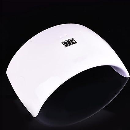 Secador De Uñas LED UV Lámpara De Uñas LED Fototerapia Sensor De Luz Máquina De Fototerapia