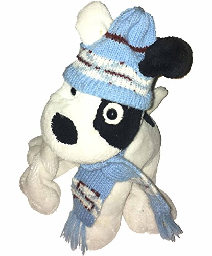 sprocket-dog-plush-in-blue-hat-and-scarf