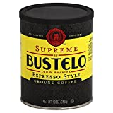 Supreme By Cafe Bustelo, Espresso Style Coffee, Can, 10 Ounce (Pack of 12), Packaging May Vary.