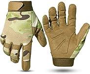 WPTCAL Military Full Finger Paintball Work Tactical Mechanic Gloves
