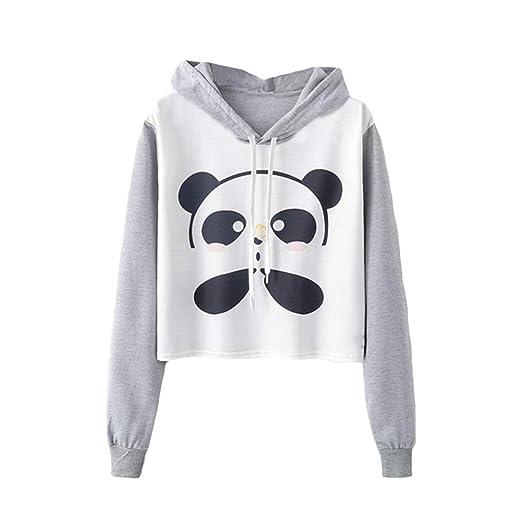 Namnoi Kawaii Sweaters For Teen Girls Panda Print At Amazon Womens