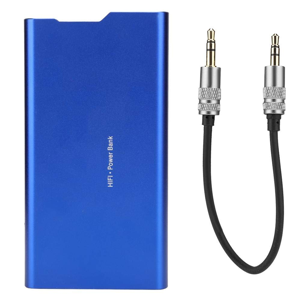 ASHATA 2 in 1 HiFi Magic Power Supply DAC Decoding Portable Mobile Power Bank 10000mah External Power Bank with Headphone Amplifier Audio Cable by ASHATA
