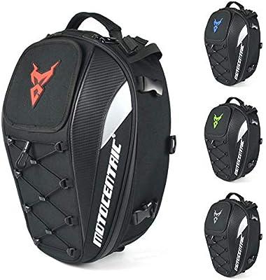 Funihut - Mochila Impermeable para Moto, con Espacio para el Casco, para Moto/Asiento Trasero, Mochila, Bolsa Locomotora y Gran Capacidad