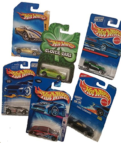 6 Vintage Die-cast Car Bundle for Collectors