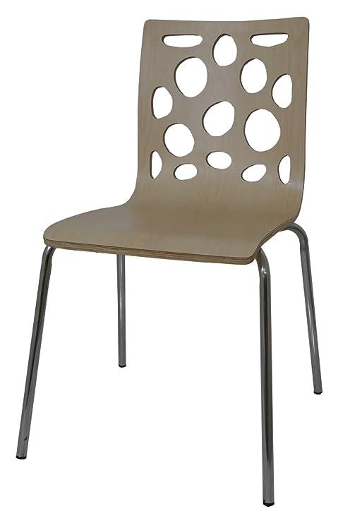 2 x sillas apilables papel pintado para pared de madera de pino ...