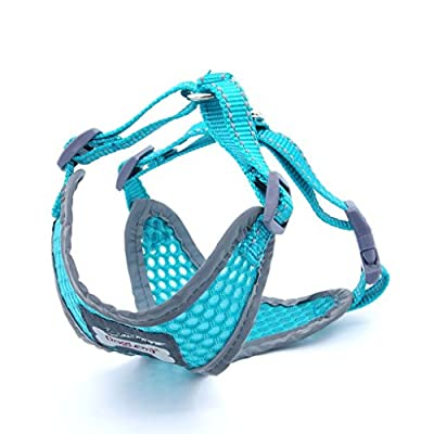 ThinkPet Reflective Breathable Soft Air Mesh Dog Vest Harness