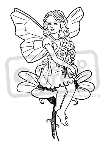 A7 'Flower Fairy' Unmounted Rubber Stamp (SP00008973)