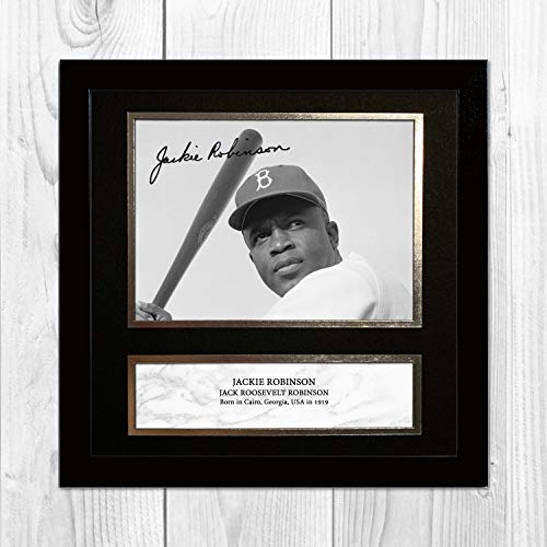 Jackie Robinson 1 NDW Signed Reproduction Autographed for sale  Delivered anywhere in Canada