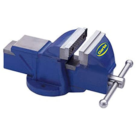 Enjoyable Clarke Metalwork Fixed Bench Vice 6 150Mm Blue Cv150Bl Pabps2019 Chair Design Images Pabps2019Com