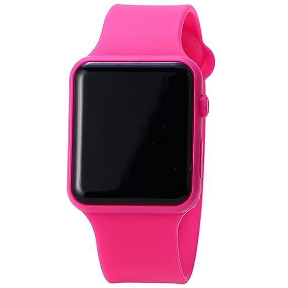 Estudiantes Reloj Banda de Silicona Deporte Reloj LED Digital Deportes Reloj de Pulsera Casual Reloj de