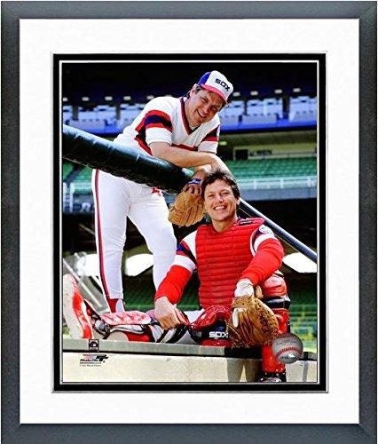 Tom Seaver and Carlton Fisk Boston Red Sox MLB Posed Photo (Size: 12.5