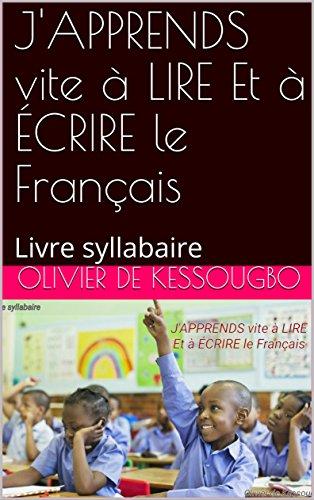 Amazon Com J Apprends Vite A Lire Et A Ecrire Le Francais