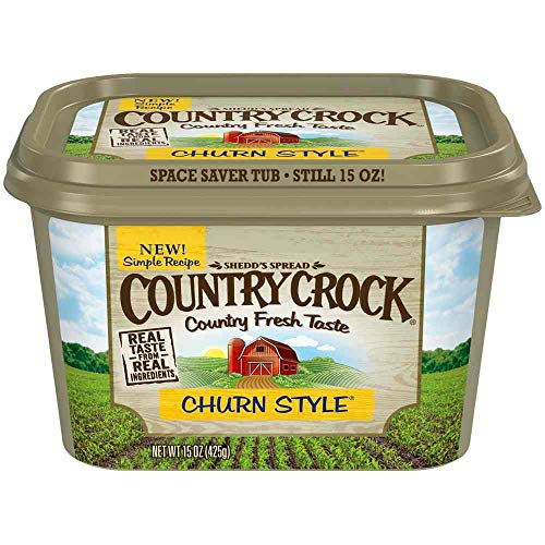(Country Crock Churn Style Spread, 15 Ounce - 12 per case.)