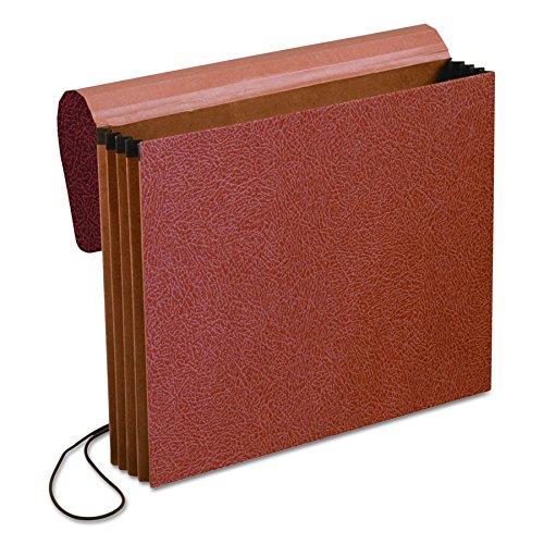 Pendaflex Expansion Standard Wallet, Red Fiber, 3 Inches, Letter Size, Red,Pack of 10 (1053EL-OX)