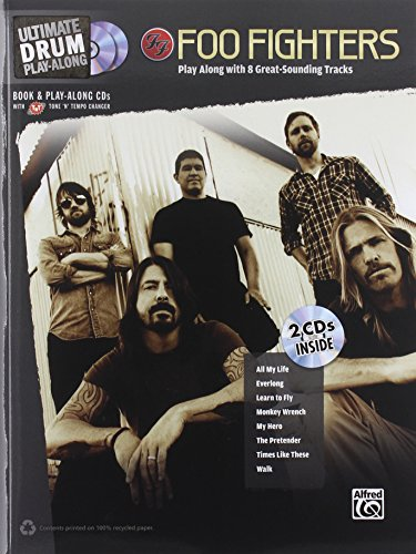 Foo Fighters Ultimate Drum Play-Along Book With 2 CDs (Ultimate (Book Foo Fighters)