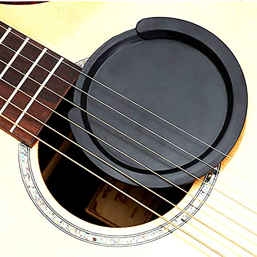 Acoustic Guitar Sound hole Block:Guitar Mute,Feedback Buster for Acoustic Guitars,For 38